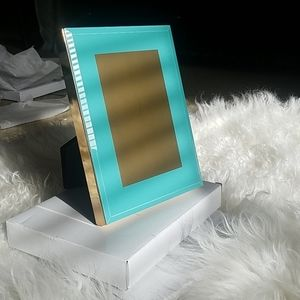 COPY - Two 4x6 Taylor Aqua Picture Frames.